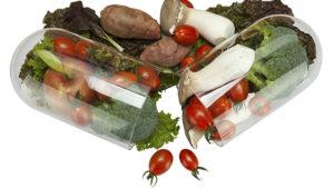 Vegetables in a capsule