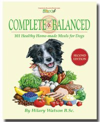 Recipe book for dogs